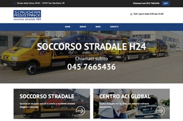 Sito web Scaligera Assistance