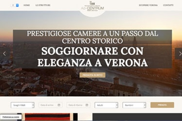 Sito web Accomodation in Verona
