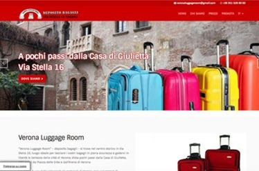 Sito web Verona Luggage Room