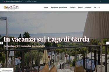 Sito web Residence Montefelice