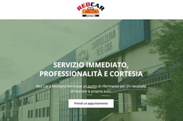 Sito web Red Car