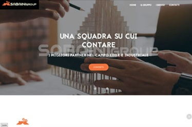 Sito web Sabaini Group